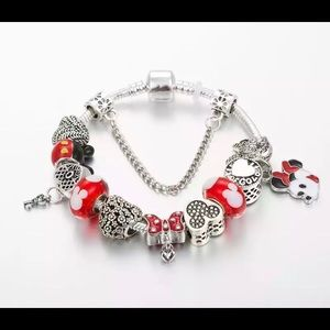 DISNEY MICKEY Charm Bracelet NEW